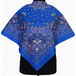 Платок Катюша синий