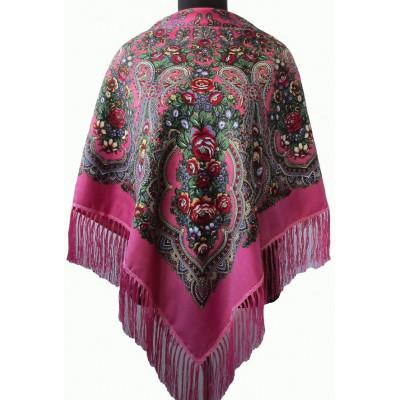 Платок Алена розовый