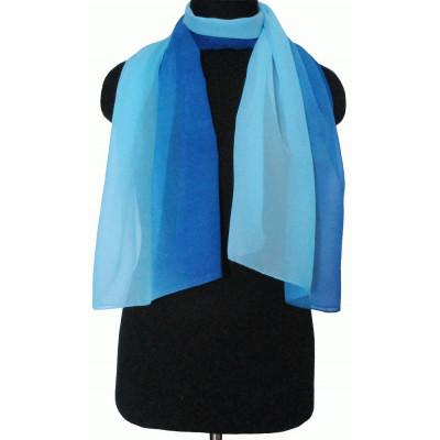 Шарфик Майя сине-голубой