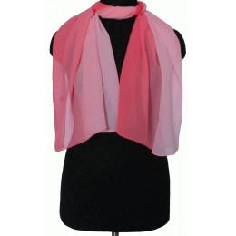 Шарфик Майя светло-ярко-розовый