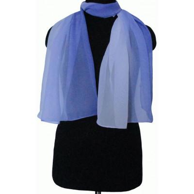 Шарфик Майя светло-ярко-голубой