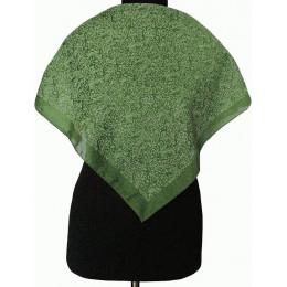 Платок Пелагея зеленый