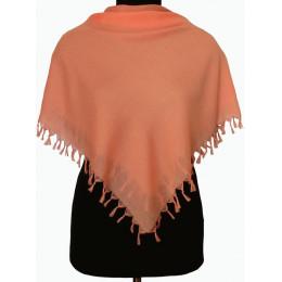 Платок Лада оранжево-розовый