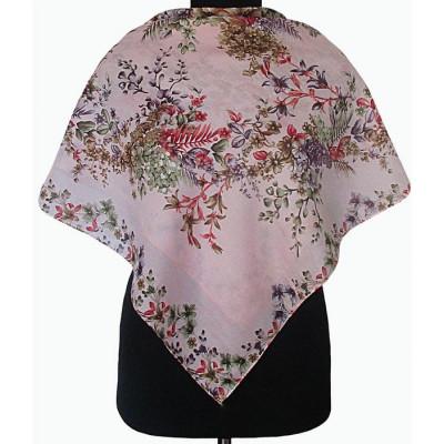 Батистовый платочек Венера цвет пыльная роза