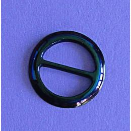 Пуговица для платка круглая с переливами