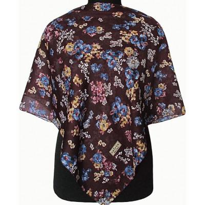 Платок Чаруша фиолетовый