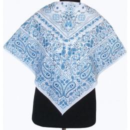 Платок Олеся синий