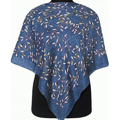 Платок Лияна голубой