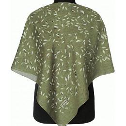 Платок Лияна зеленый (товар по сниженной цене)