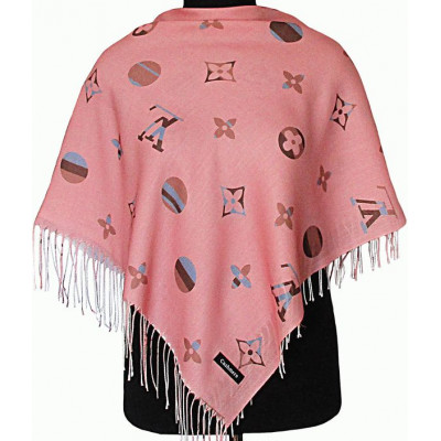 Платок Луиза розовый