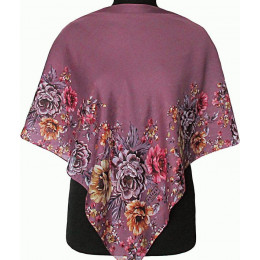 Платок Вероника фиолетовый